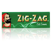 ZIG ZAG PAPERS GREEN *