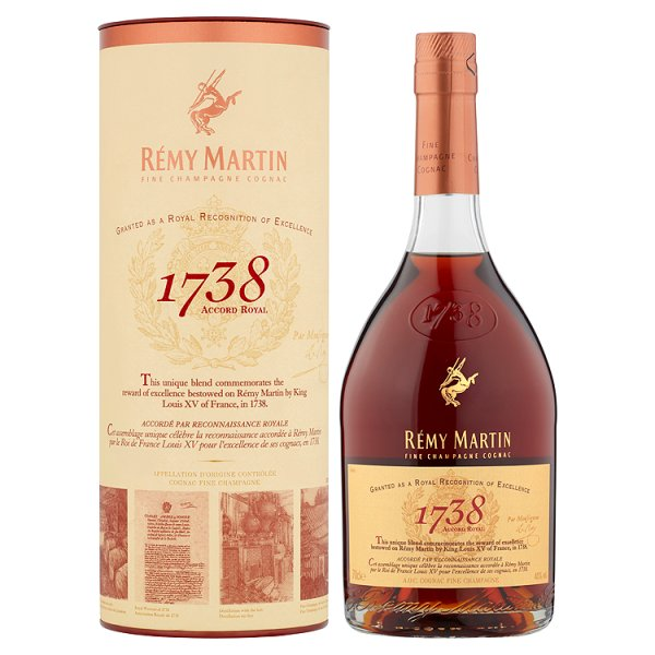 REMY MARTIN 1738  ACCORD ROYAL PS