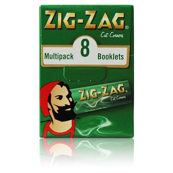 ZIG ZAG PAPERS GREEN M/PK *