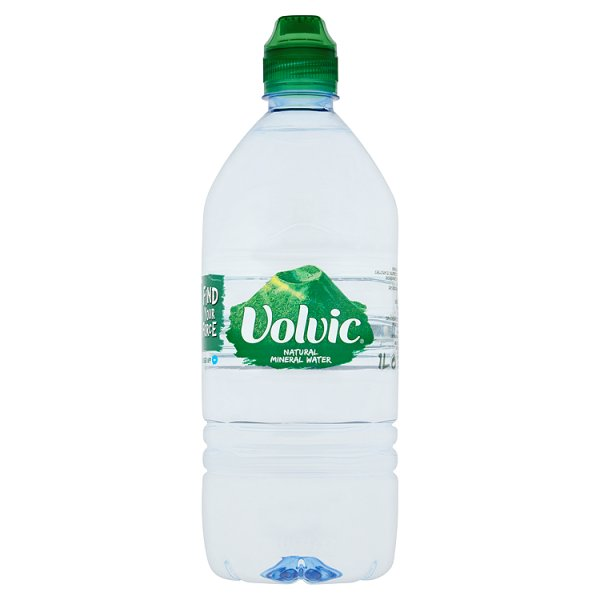 VOLVIC MINERAL WATER S/CAP