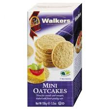 WALKERS MINI OATCAKES PS