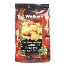 WALKERS MINI FESTIVE STARS BAG PS