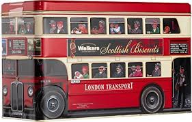 WALKERS LONDON BUS TIN PS