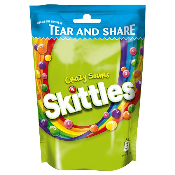 SKITTLES SOURS POUCH