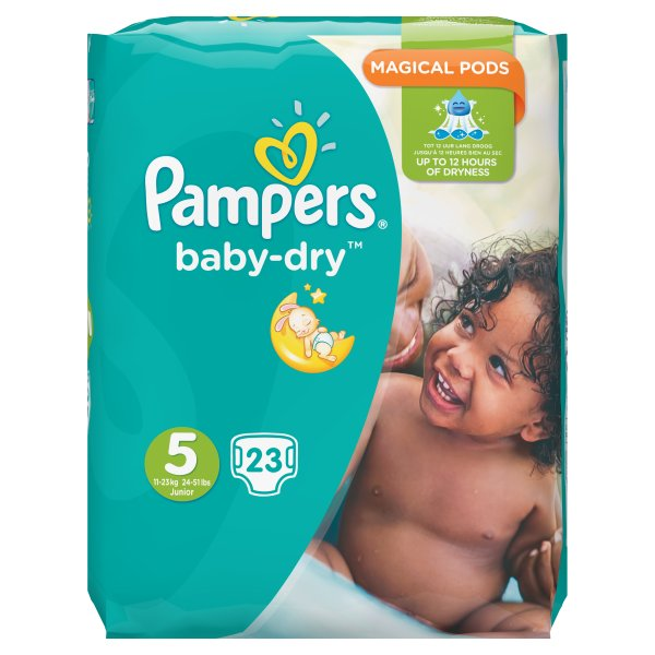PAMPERS BABYDRY JUNIOR SZ5
