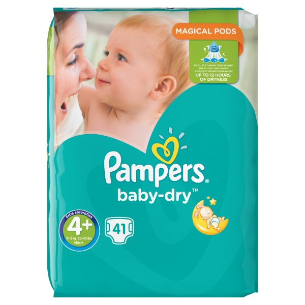PAMPERS BABYDRY ESSENTIAL PACK MAXI+SZ4