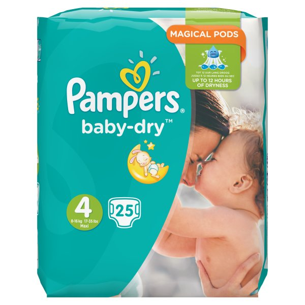 PAMPERS BABYDRY MAXI SZ4