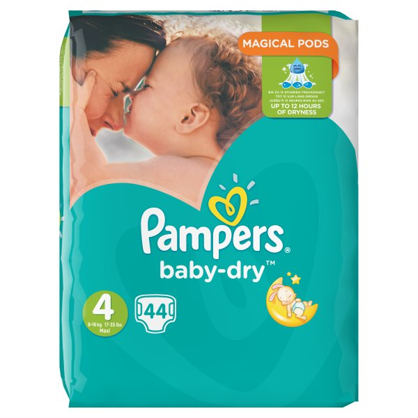 PAMPERS BABYDRY ESSENTIAL MAXI SZ4