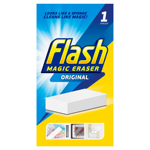 FLASH MAGIC ERASER HOUSEHOLD CLEANER