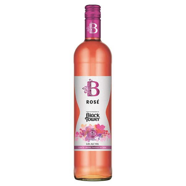 BLACK TOWER 'B' ROSE 5.5%