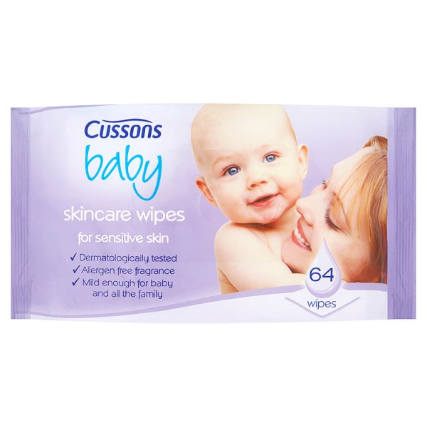 CUSSONS BABY WIPES SENSITIVE