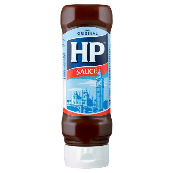 HP BROWN SAUCE TOP DOWN