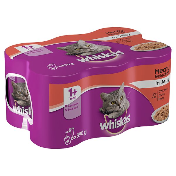WHISKAS MEAT SELECT IN JELLY