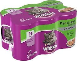 WHISKAS SUPERMEAT FISH+MEAT