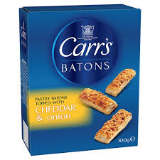 CARRS BATONS CHEDDAR/SPRING ONION PS