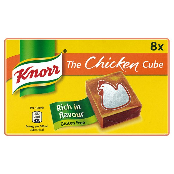 KNORR STOCK CUBE CHICKEN