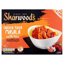 SHARWOODS CHICKEN KORMA WITH RICE
