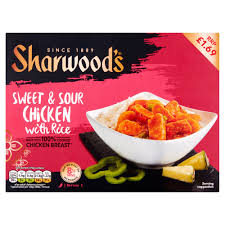 SHARWOODS SWEET & SOUR CHICKEN PMï¾£1.69