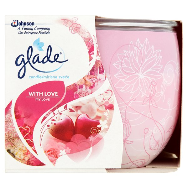 GLADE CANDLE WITH LOVE