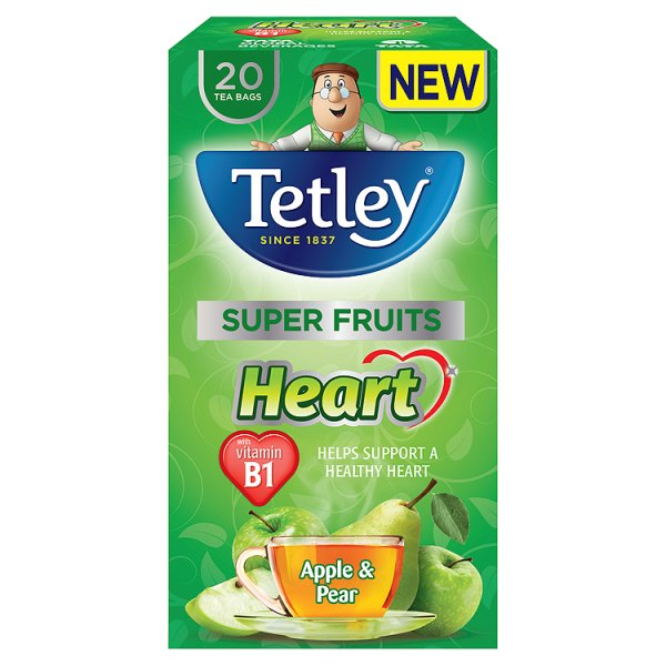 TETLEY SUPER APPLE/PEAR HEART