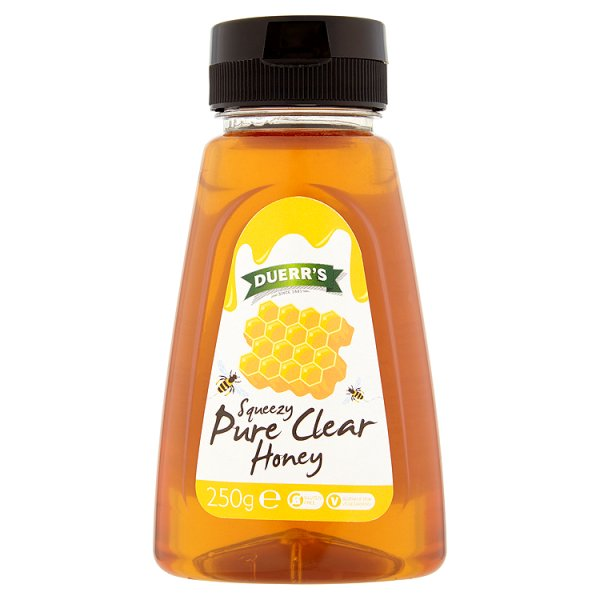 DUERRS SQUEEZY PURE CLEAR HONEY