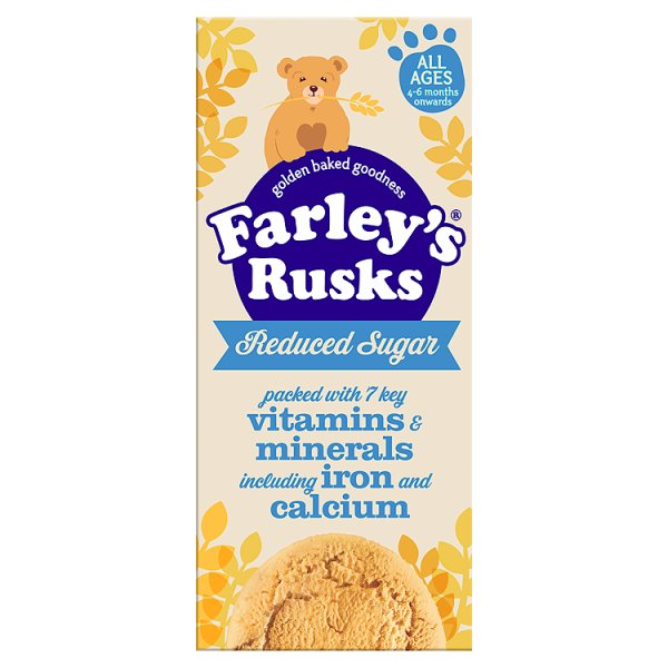 FARLEYS RUSKS REDUCED SUGAR