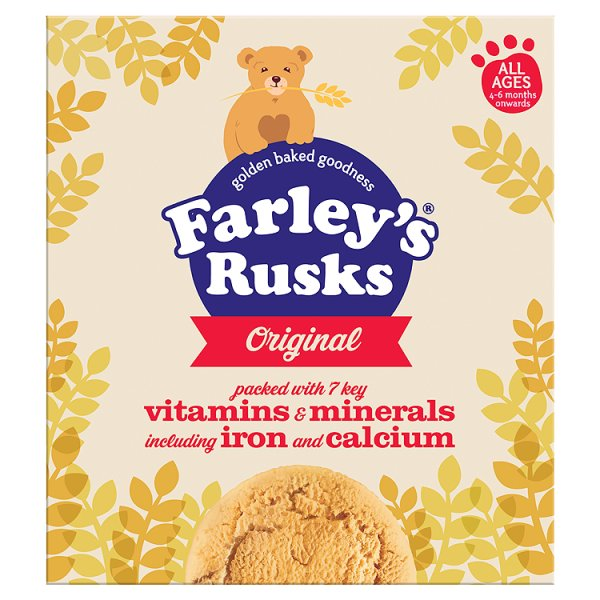 FARLEYS RUSKS ORIGINAL