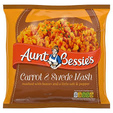 A/BESSIE CARROT/SWEDE MASH