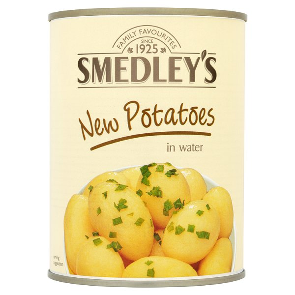 SMEDLEY NEW POTATOES IN WATER