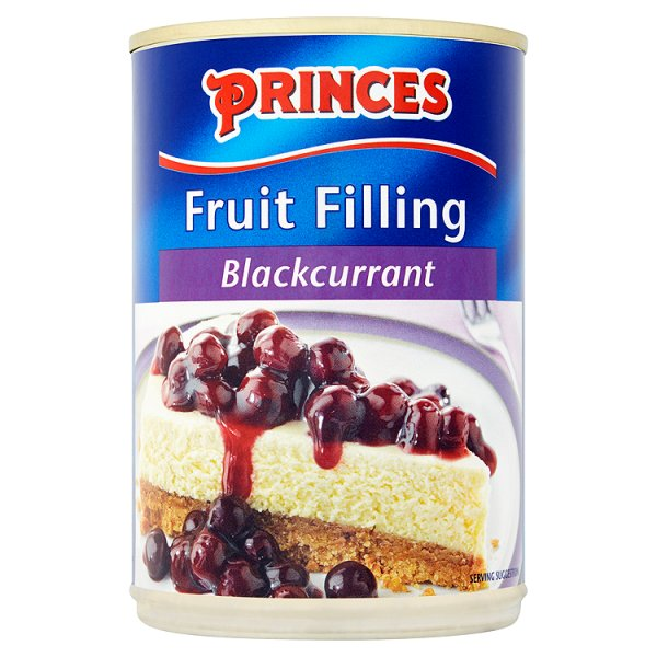 PRINCES BLACKCURRANT 366 FILLING