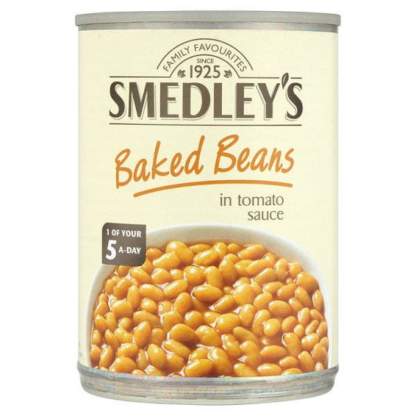 SMEDLEY BEANS IN TOMATO SAUCE