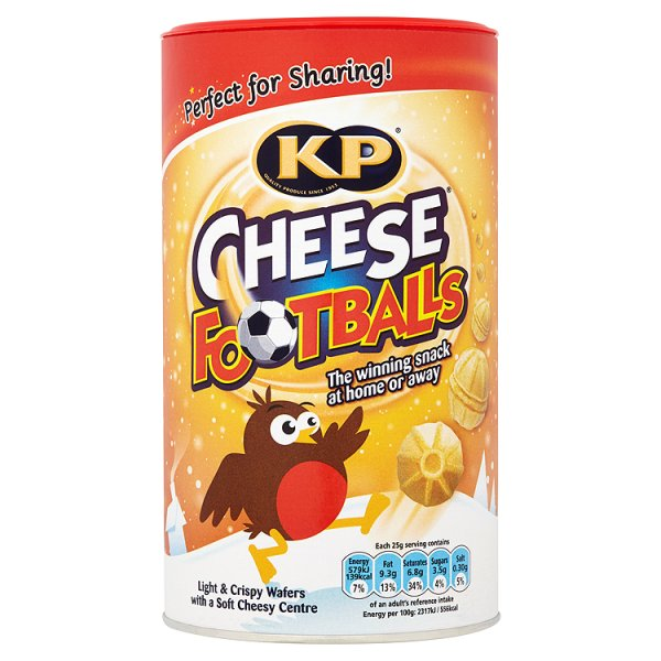 KP CHEESE FOOTBALLS CADDY PS - PRODUCTS Wholesale-British  Food-Groceries-Offers-UK