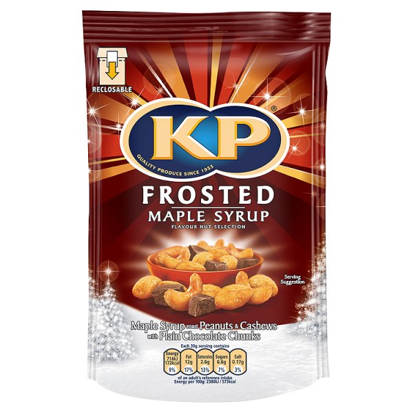 KP FROSTED MAPLE SYRUP NUT MIX