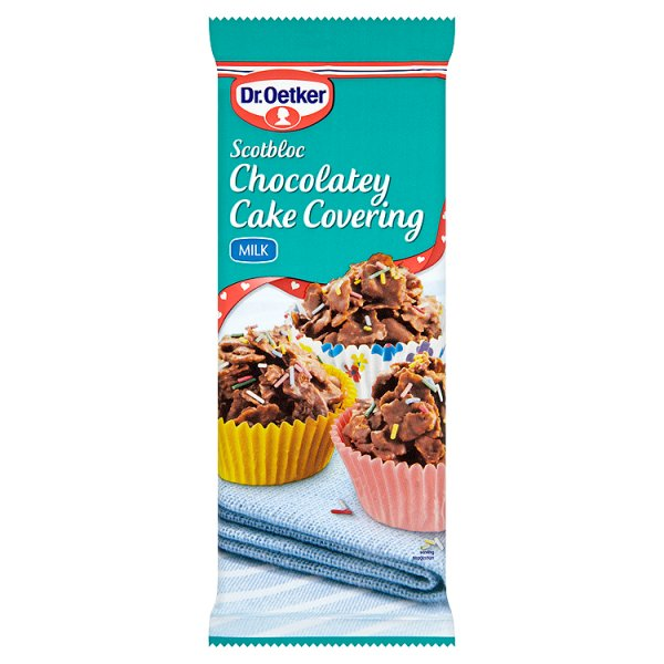 D/OETKER SCOTBLOC MILK CHOCOLATEY COVERING
