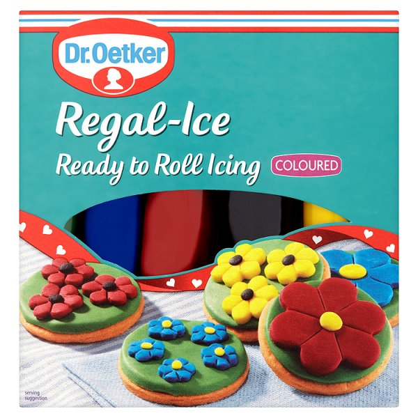 D/OETKER REGAL ICE COLOURED READY TO ROLL PS