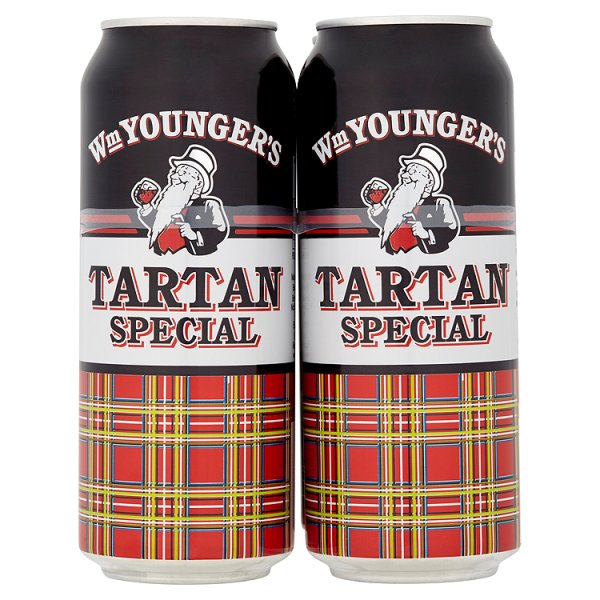 YOUNGERS TARTAN SPECIAL 4PK CAN 3.5%