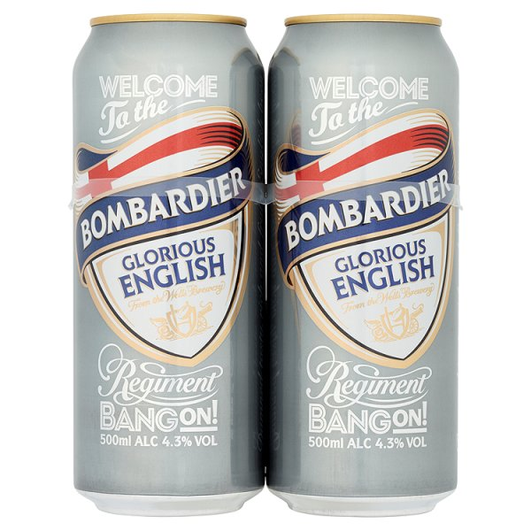 BOMBARDIER 4PK CAN 4.3%