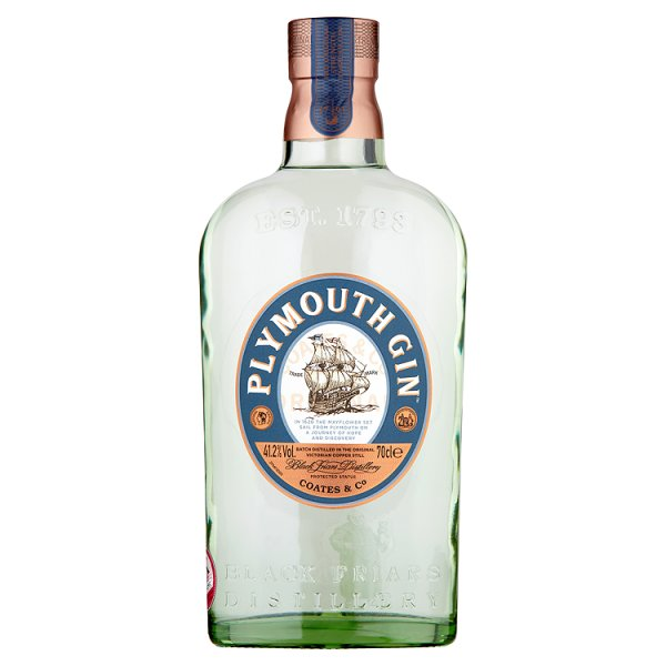 PLYMOUTH GIN 41.2% DST