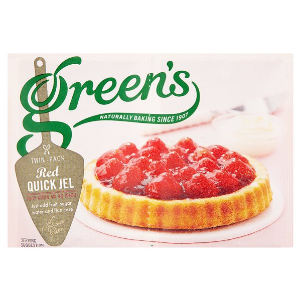 GREENS QUICK JEL RED TWIN PACK