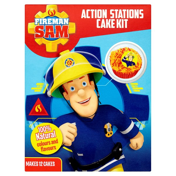 GREENS FIREMAN SAM CAKE KIT