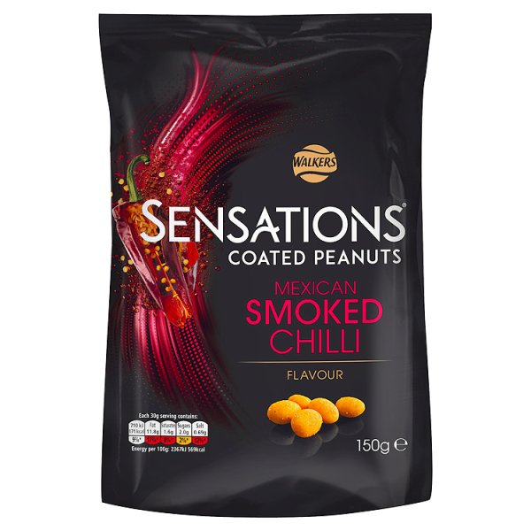 S/SATIONS MEXICAN CHILLI PEANUTS