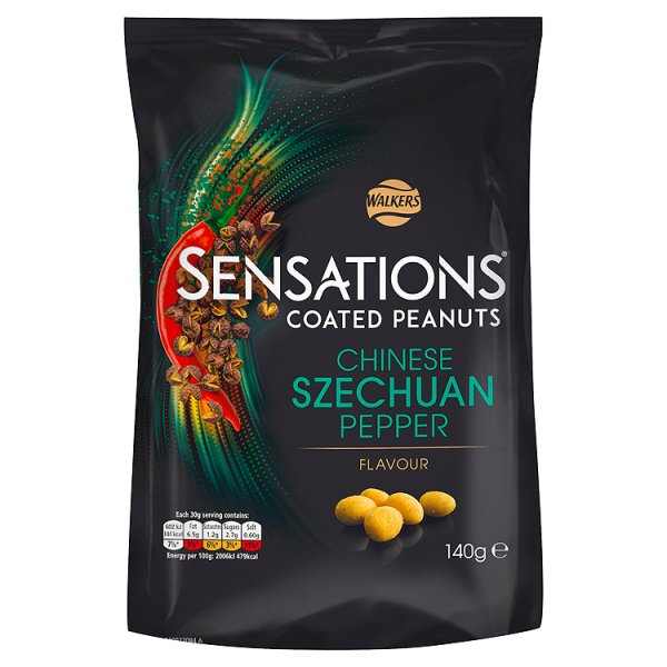 S/SATIONS SZECHUAN PEPPER PEANUTS