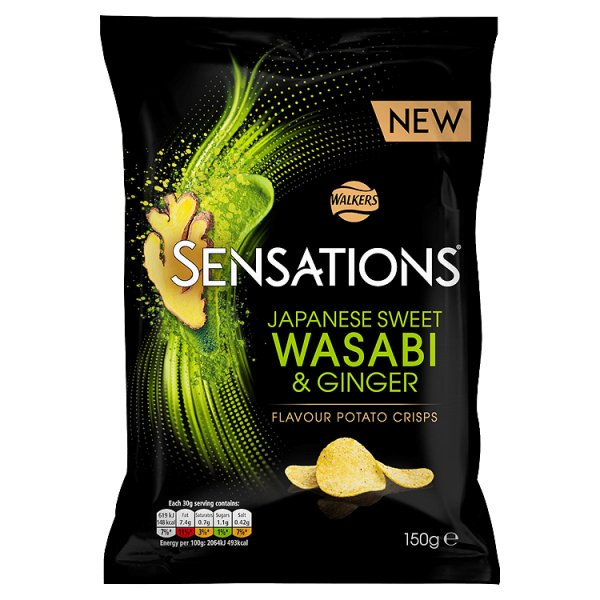 S/SATIONS WASABI & GINGER
