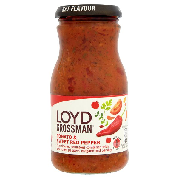 L/GMAN TOMATO/SWEET RED PEPPER SAUCE