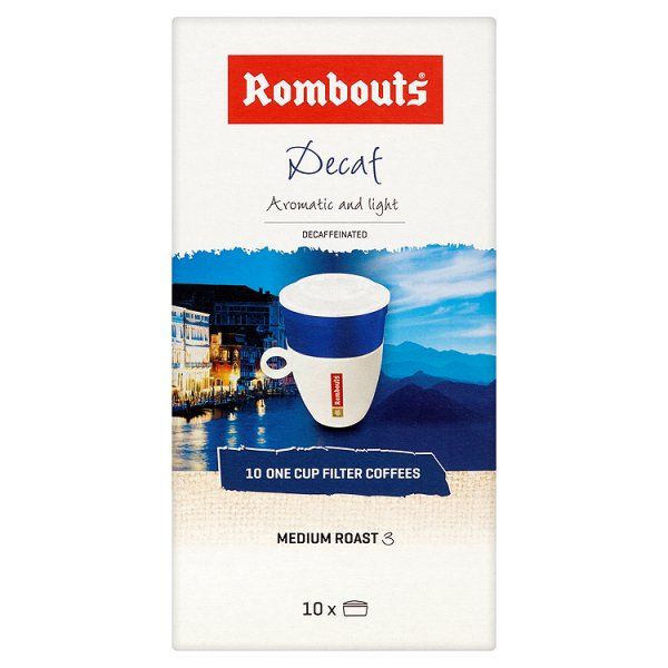 ROMBOUTS 1 CUP FILTERS DECAFFEINATED