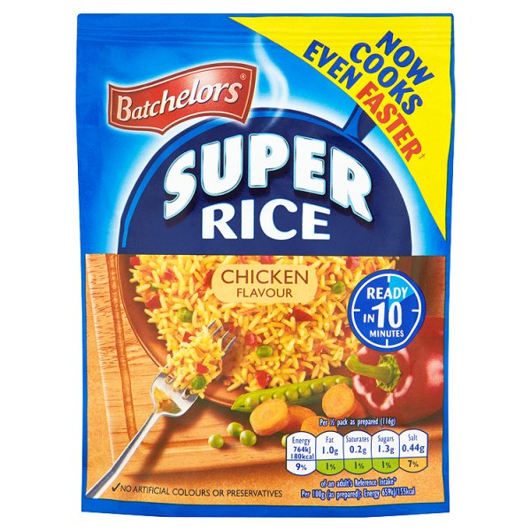 BATCHELORS SUPER RICE CHICKEN