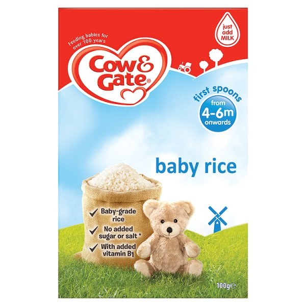 COW&GATE PURE BABY RICE 4MONTHS+