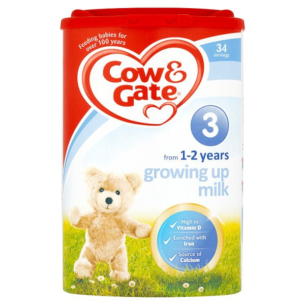 COW&GATE NO3 GROWING UP MILK 1-2YR