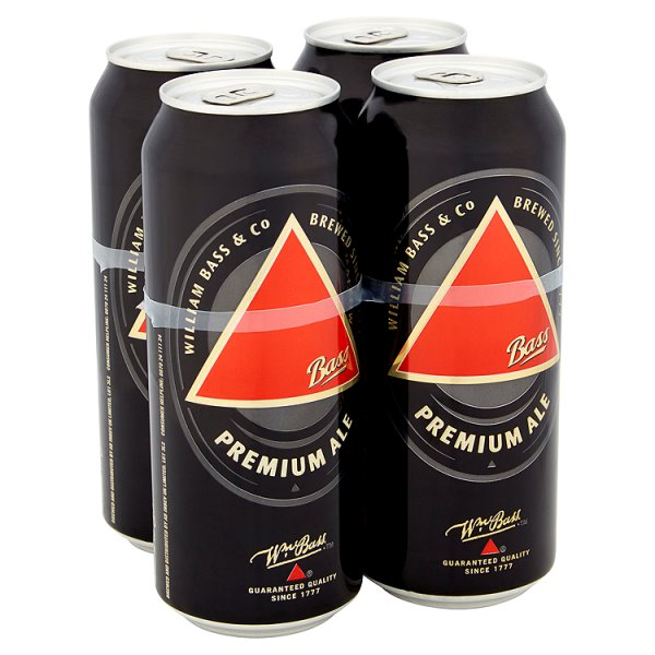 BASS DRAUGHT 4PK CAN 4.4%
