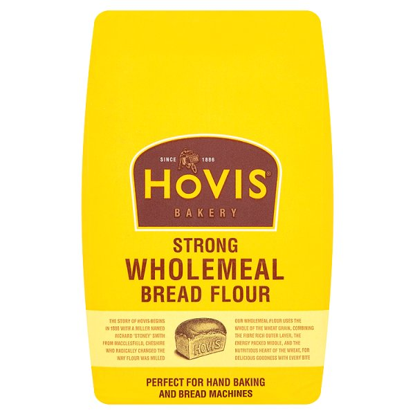 HOVIS STRONG WHOLEMEAL BREAD 478